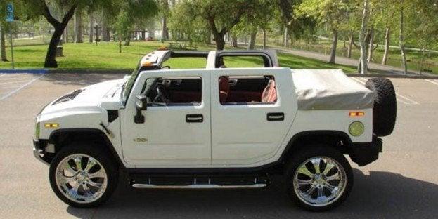 NPE Hummer H2 convertible