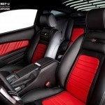 Saleen GT Edition Mutang interior