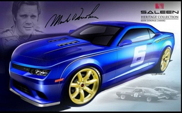 Saleen Mark Donohue Edition Camaro