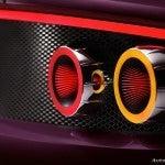 Spyker B6 Venator Spyder tail lights