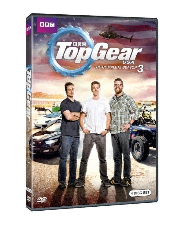 top gear usa season 3 dvd set giveaway. Black Bedroom Furniture Sets. Home Design Ideas