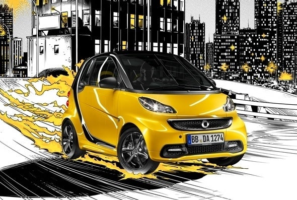 smart fortwo fire