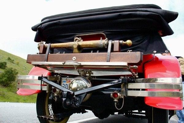 1925 Tiger Car cannon