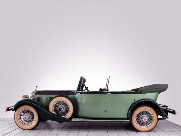 1929 Rolls-Royce hunting car