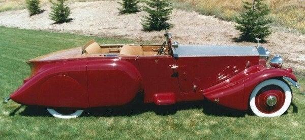 1930 Barker Boattail 1