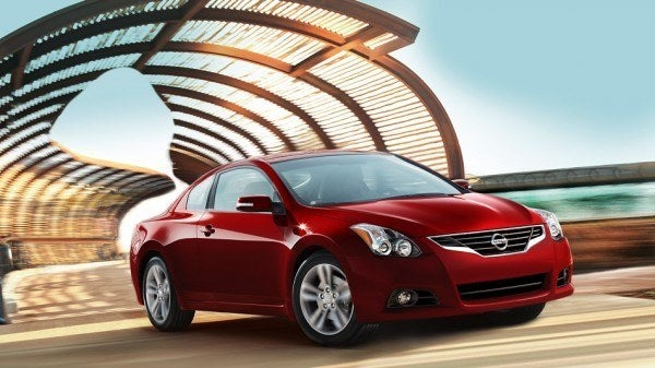 2013 Nissan Altima Coupe driving