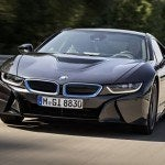 BMW i8 driving 2