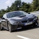 BMW i8 driving 3