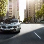 BMW i8 front driving
