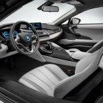 BMW i8 interior 2