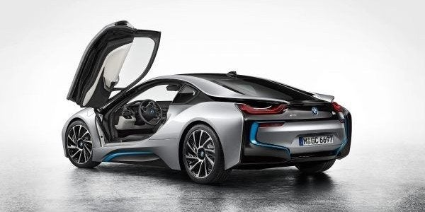 BMW i8 rear open