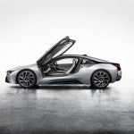 BMW i8 side open