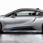 BMW i8 side