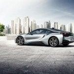 BMW i8 sunny