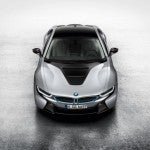 BMW i8 top front