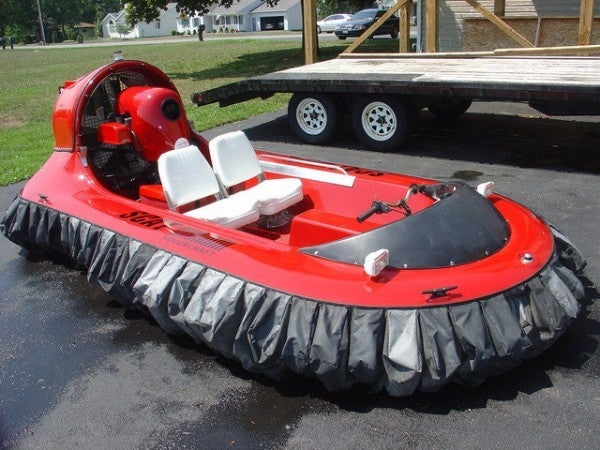 Scat 3 Person hovercraft