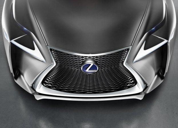 Lexus LF NX Concept front top