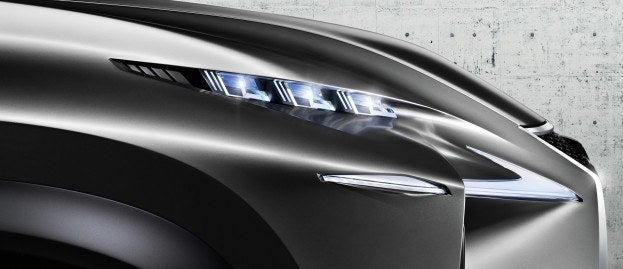 Lexus LF NX Concept headlight