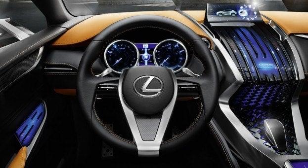 Lexus LF NX Concept instruments