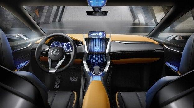 Lexus LF NX Concept interior 2