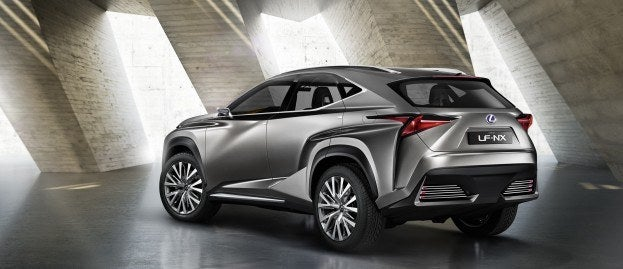 Lexus LF NX Concept rear
