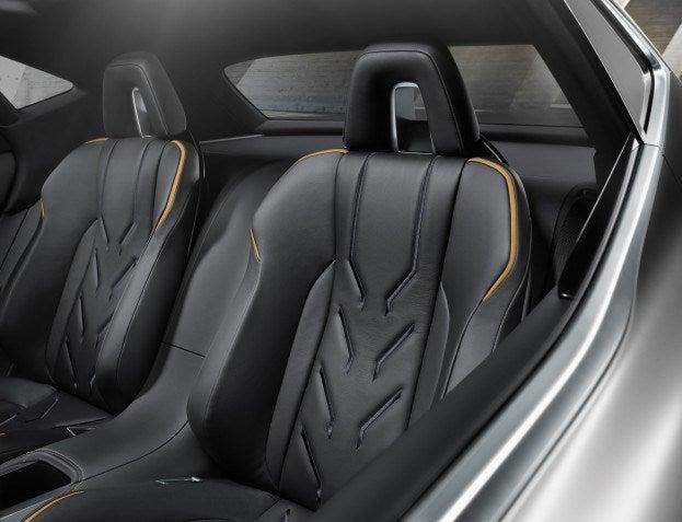 Lexus LF NX Concept seats