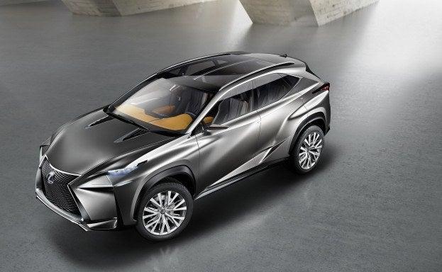 Lexus LF-NX Concept top front