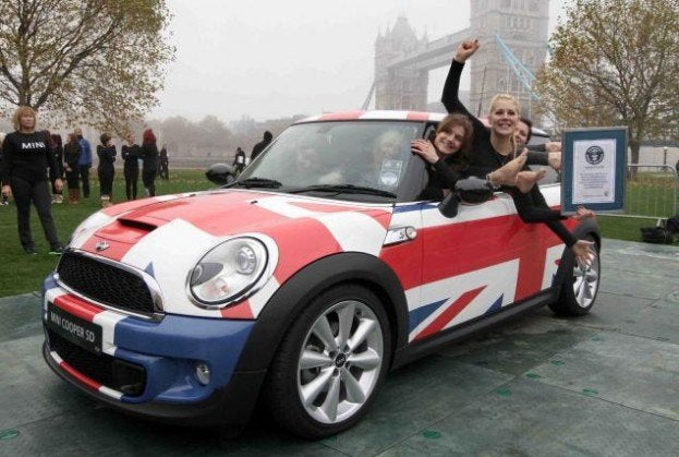 Most People in a MINI