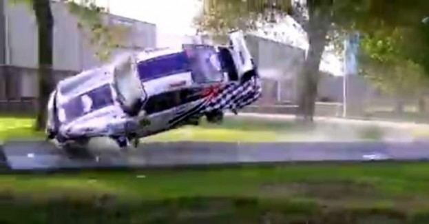 Porsche 964 RSR Crash