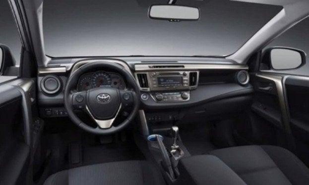 2013 Toyota RAV4 interior