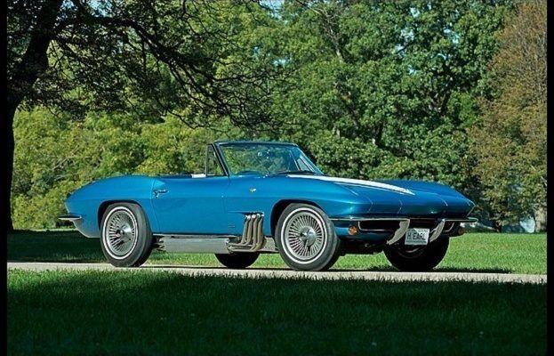 1963 Harley J  Earl Corvette 623x400 - Harley Earl's 1963 Chevrolet Corvette Fetches 1.5 Million at Car Auction