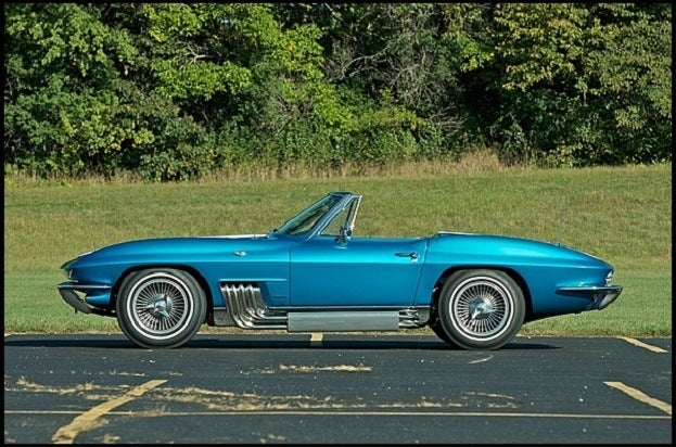 1963 Harley J Earl Corvette Side Profile