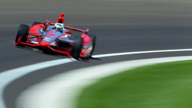 Sebastian Bourdais (Sebas), Indy 500 Practice
