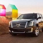 2015 Cadillac Escalade front