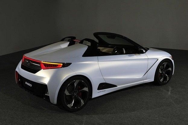 Honda S660 Roadster Concept rear