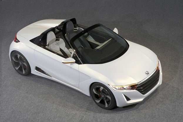 Honda S660 Roadster Concept top