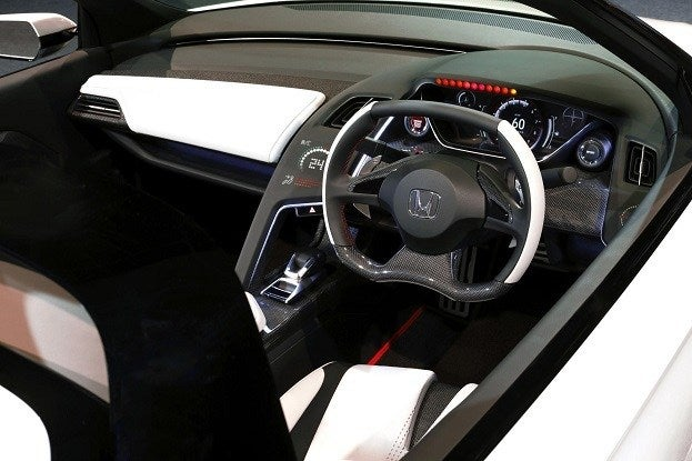 S660 Roadster Concept interior