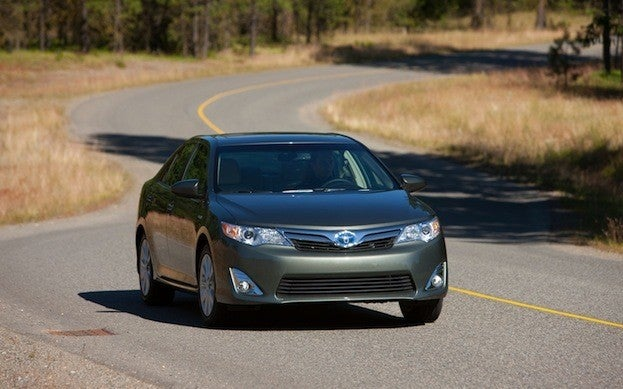 Toyota Camry Hybrid driving