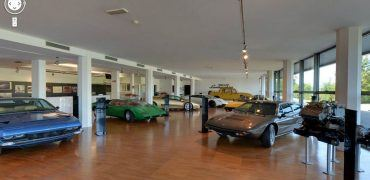 Inside Lamborghini Museum 370x180 - Get Inside the Lamborghini Factory with Google Maps