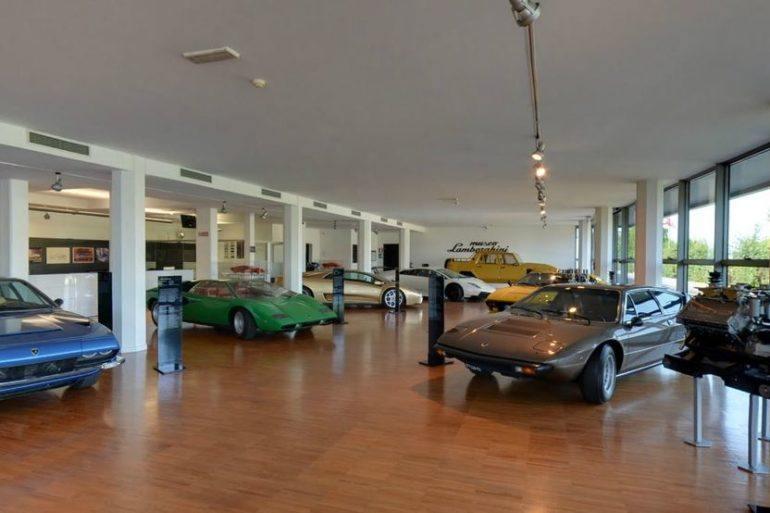 Inside Lamborghini Museum