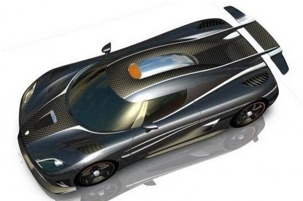 Koenigsegg One 1 top