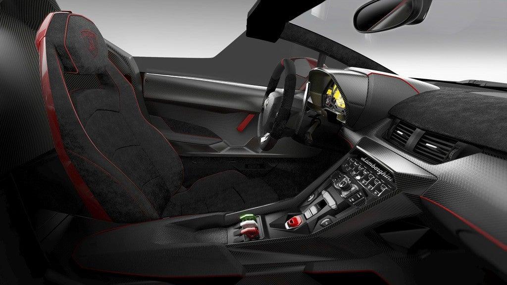 lamborghini veneno roadster interior photo on automoblog