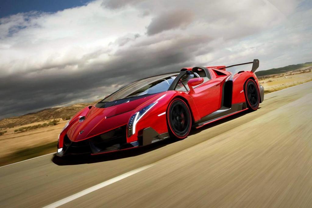 Lamborghini Veneno Roadster thumb