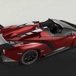 Lamborghini Veneno Roadster top rear