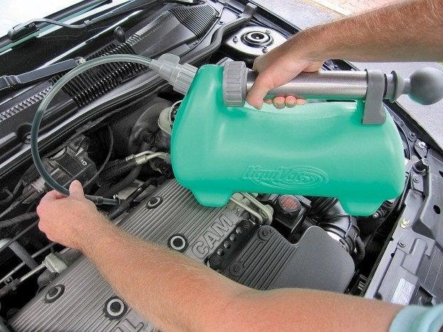 LiquiVac oil pump
