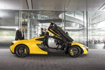McLaren P1 side open