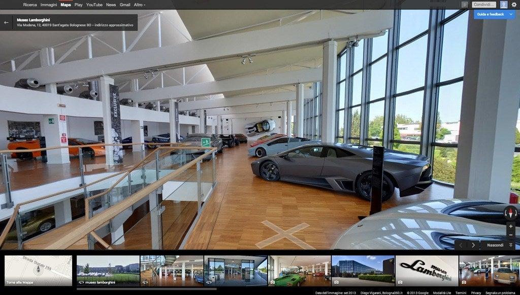 Museo Lamborghini Google Maps