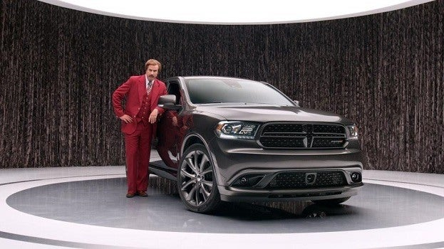 Ron Burgundy 2014 Dodge Durango