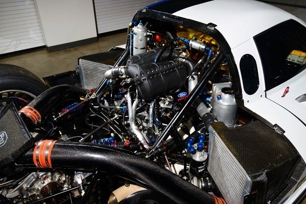 ford ecoboost riley race car engine