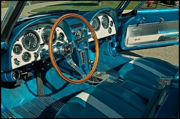 1963 Harley J Earl Corvette interior
